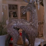 Beaded deer figurine $40.06 from $58.00