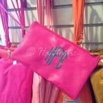 clutch purse $21.00 + $7.00 for monogram